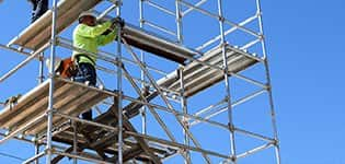 Frame and Brace Scaffolding